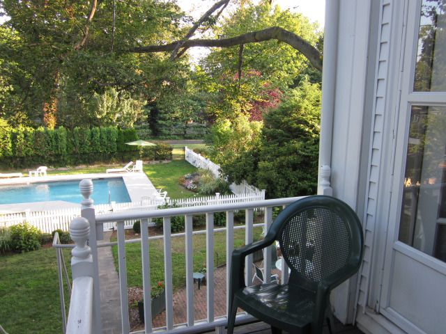 deck of room 28 at the stanton house inn on labor day weekend 2018
