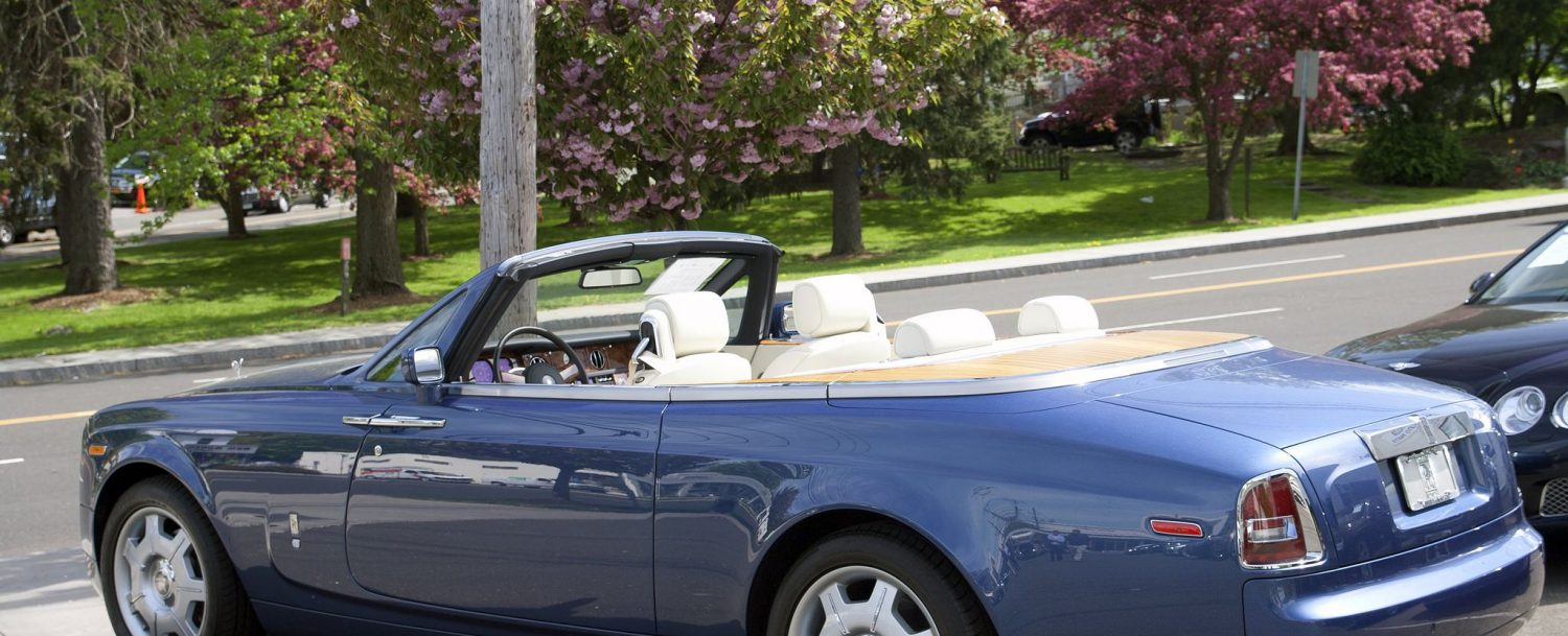 Ask, where is Greenwich CT and the answer could be the place to find fancy cars