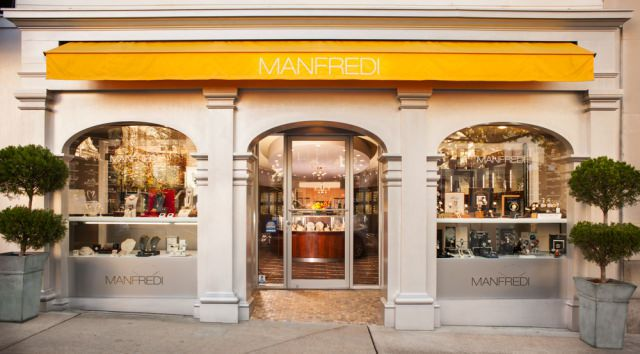 manfredi jewels is one of the great local Greenwich Avenue stores