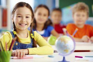 Children in class in private schools in Greenwich CT