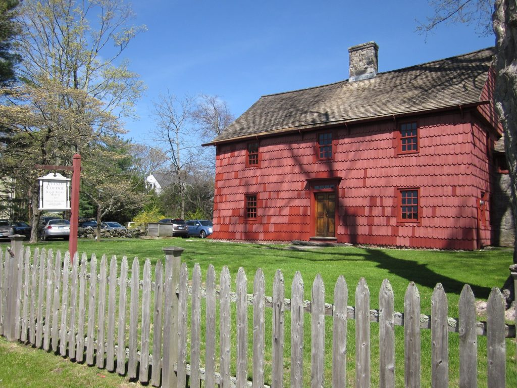 View of Putnam Cottage in Greenwich, CT