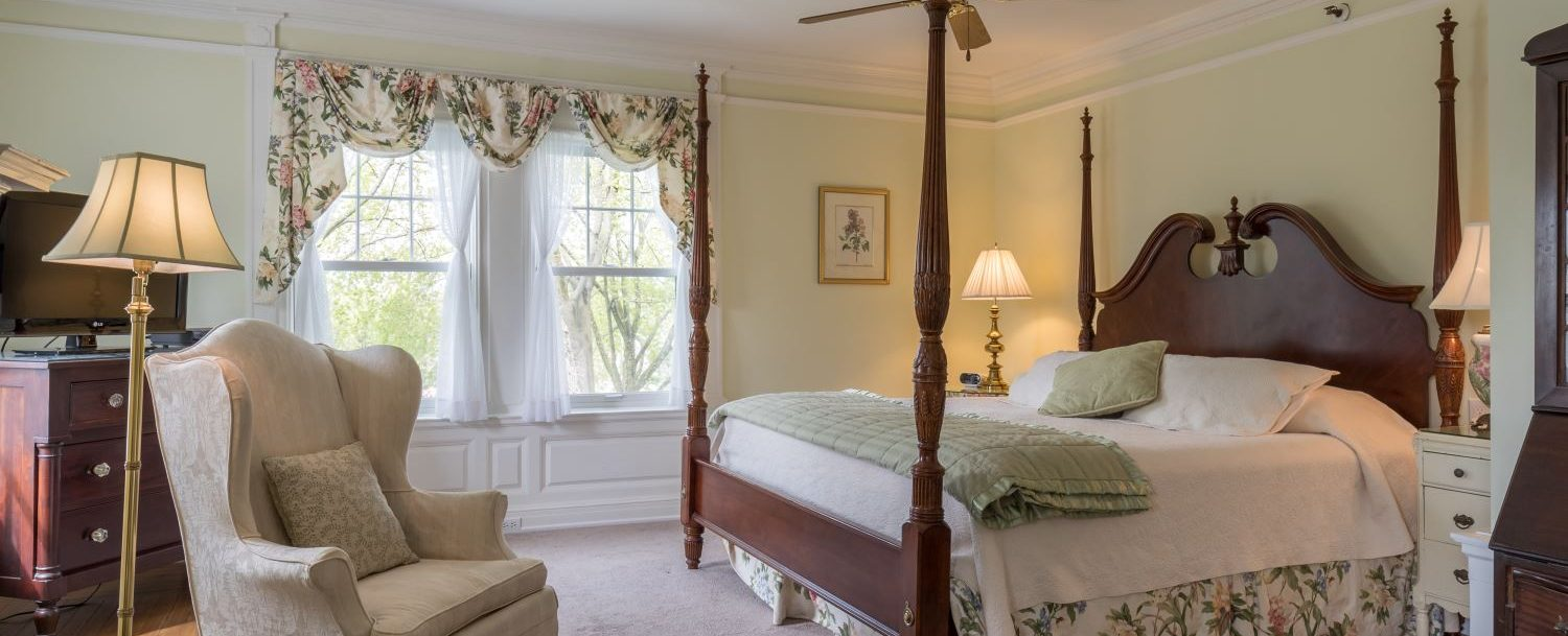 Brush Suite, one of the best Connecticut Honeymoon suites