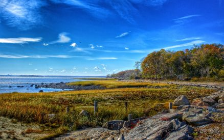 Autumn at Greenwich Point Park, a walk there is one of the best things to do in Greenwich, CT