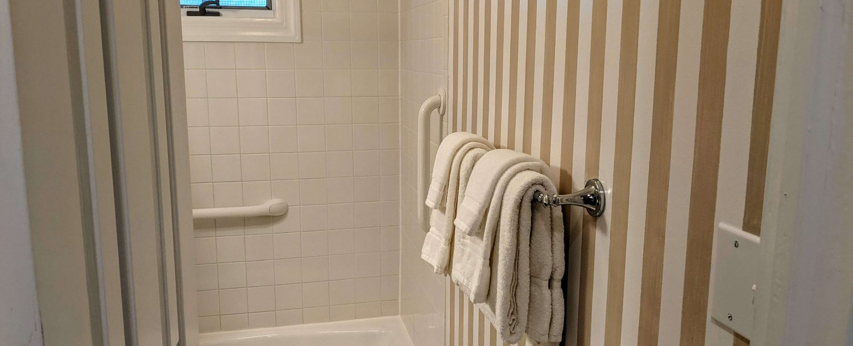 The bathroom of Room 18