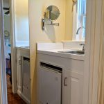 Former butler's pantry converted into a wet bar