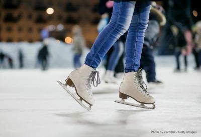 Rye Playland Ice Skating