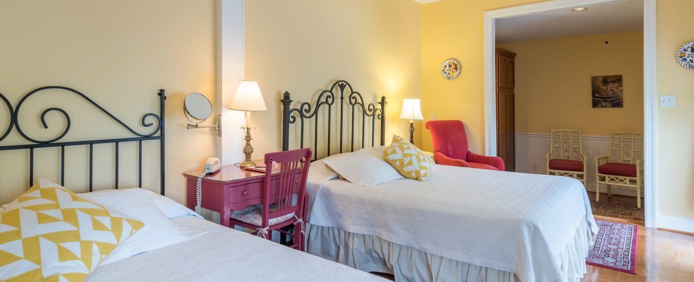 Stanton House Inn Room 23 double queen size beds