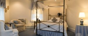 Room 14 at Stanton House Inn; one of the best Winter Weekend Getaways from NYC for Couples