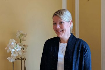 Anette Horan, Assistant Innkeeper at Stanton House Inn, a Greenwich, CT, bed and breakfast inn