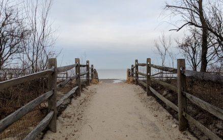 path to the beach at tod's point or greenwich point park, the best greenwich beach of the many beaches near greenwich ct