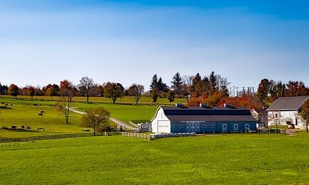 connecticut farm in the fall
