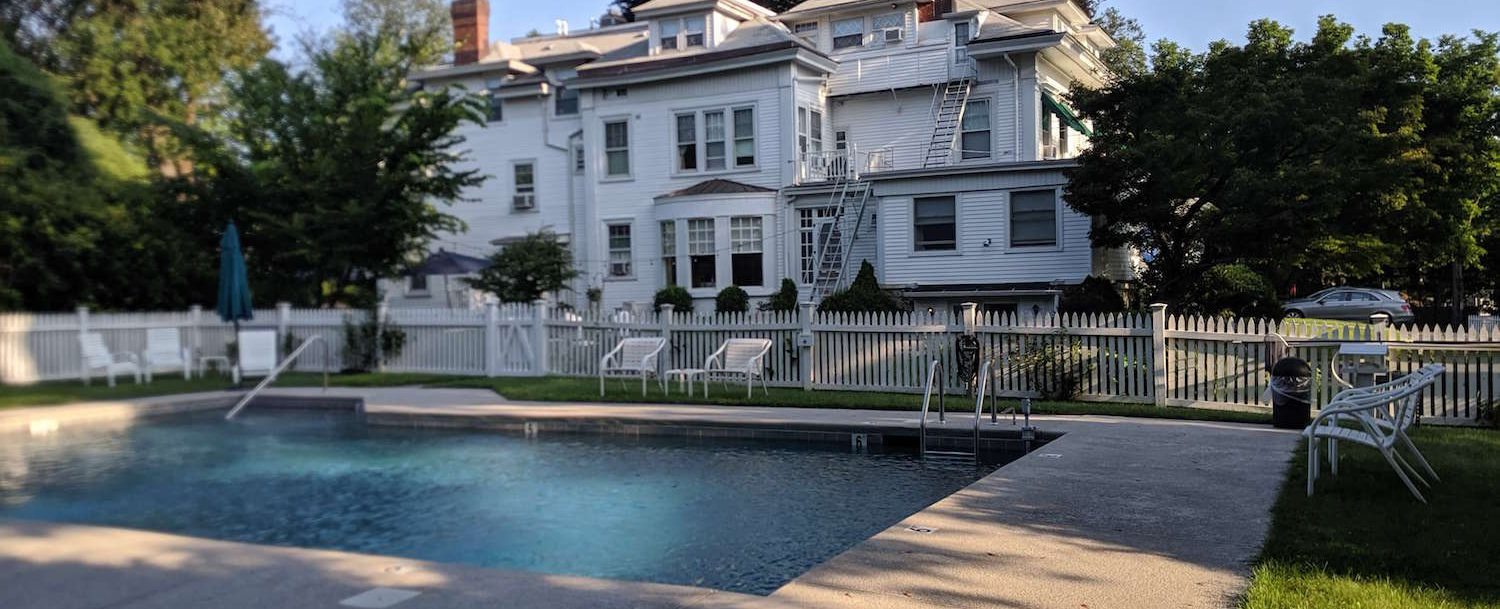 the only greenwich, connecticut, bed and breakfast with a pool