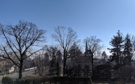 view of second congregational church from stanton house inn in greenwich ct