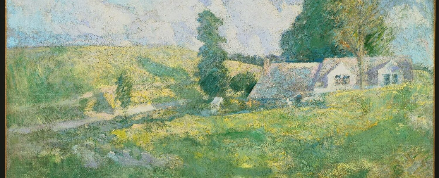 summer by john henry twacthman, an artist with ties to museums in greenwich ct
