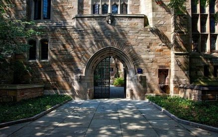 gate at Yale University, site of several great New Haven, CT, museums