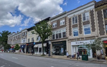 Greenwich Avenue, the main street of one of the most cute towns in ct