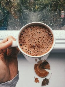 cup of hot chocolate, finding the best hot chocolate is one of the top winter activities in CT