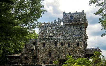 Gillette Castle in East Haddam, CT, one of the most quirky attractions in southern CT
