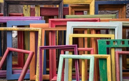 colorful picture frames for sale