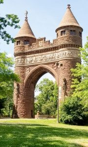 Arch in Bushnell Park
