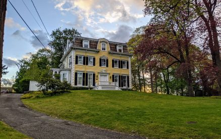 historic mansion in the Cos Cob neighborhood of Greenwich