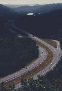 The Merritt Parkway in Connecticut