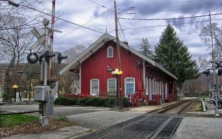The village of Kent, Connecticut